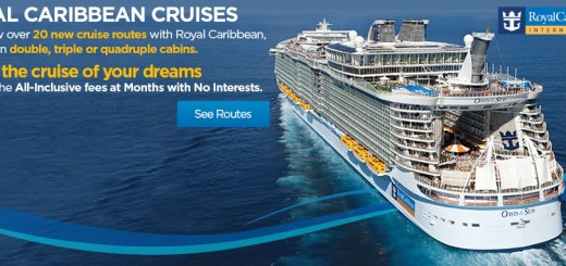 Royal Caribbean Cruises with over 20 cruise routes scheduled