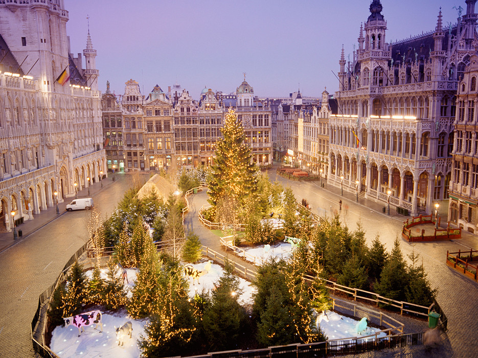 La Grand Place. Brussels, Belgium